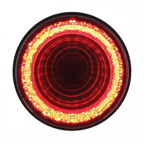 """Part Shop Glow Tail Lights: 24 LED 4"""" """"MIRAGE"""" Stop, Turn & Tail Light"""