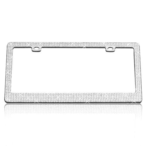 Chrome Six Clear Tag Frame » 75 Chrome Shop