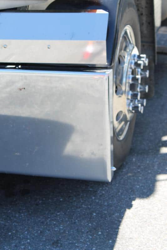 Peterbilt 389 Boxed End Bumper with Tow Holes
