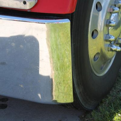 a08b46497a2c Peterbilt 359 Texas Rolled End Bumper with Tow Holes