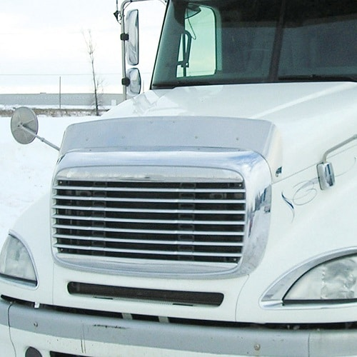 Freightliner Columbia Stainless Bugshield