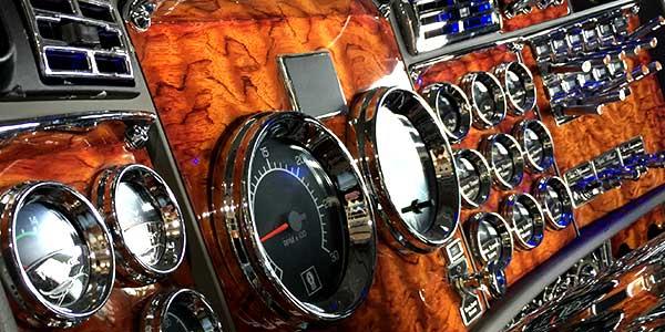 75 chrome shop big rig accessories - Peterbilt 379 interior accessories ...