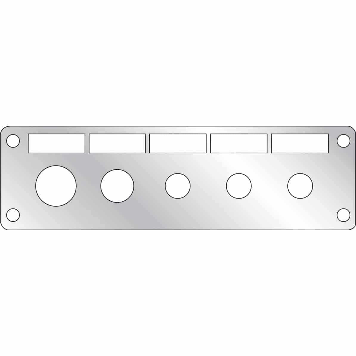 freightliner stainless steel ignition switch panel cover. Black Bedroom Furniture Sets. Home Design Ideas