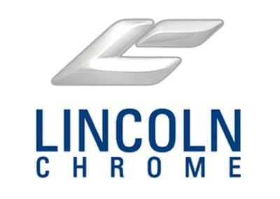lincoln chrome TV graphic web graphic