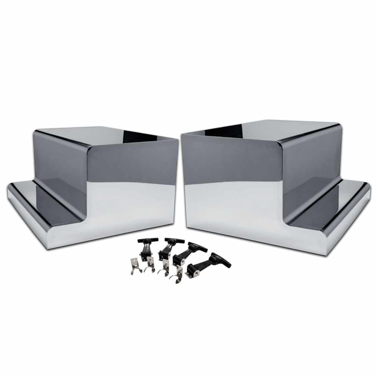 Tool Box Covers >> Peterbilt Battery Toolbox Covers 75 Chrome Shop