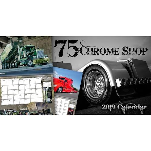 75 Chrome Shop >> 75 Chrome Shop 2019 Calendar 75 Chrome Shop