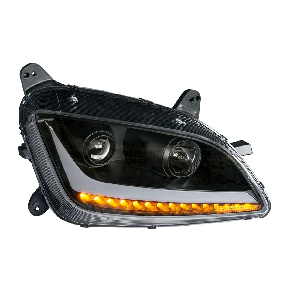 Blackout Projection Headlight With Led Position Light
