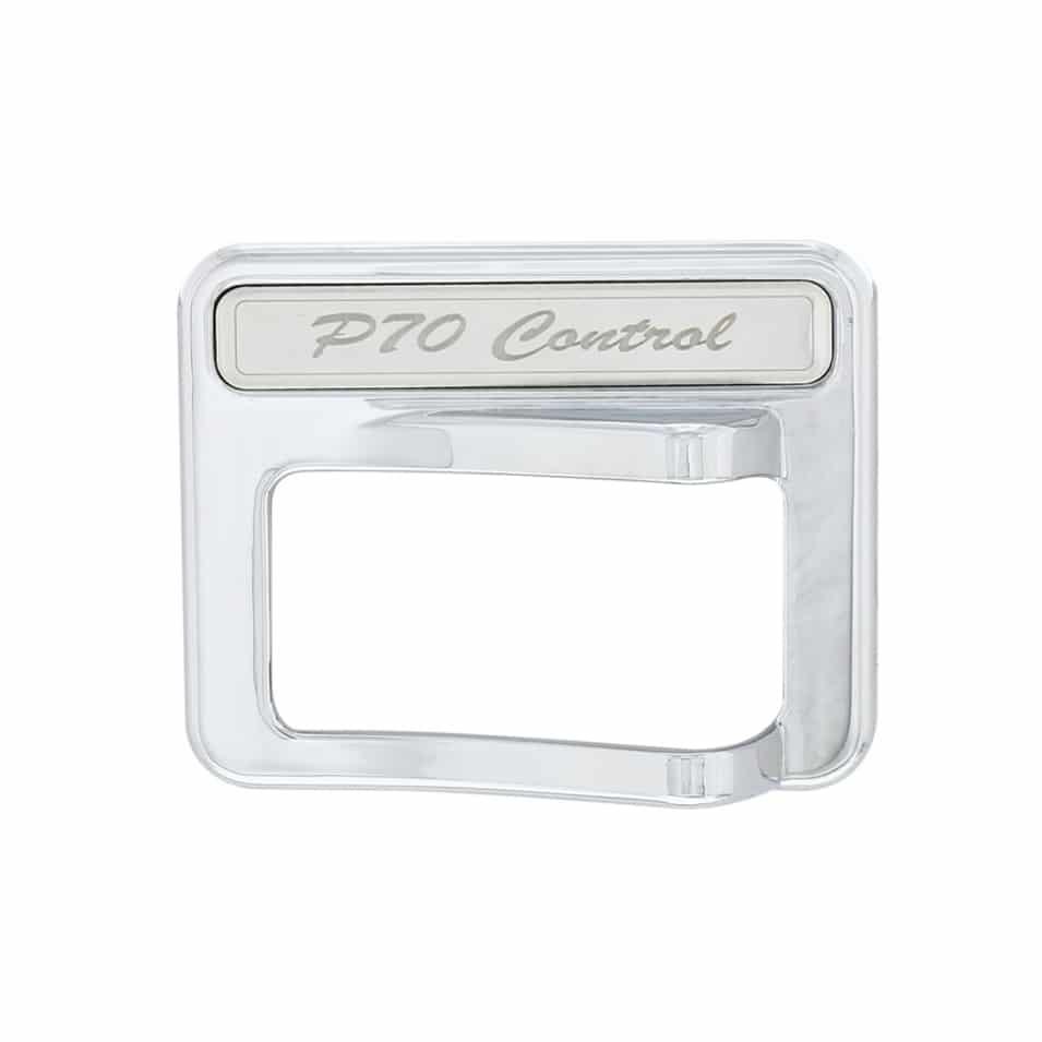 2014+ Peterbilt Chrome Rocker Switch Cover - PTO Control